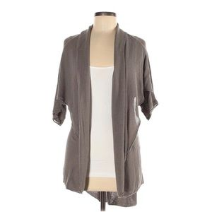 Alice + Olivia High Low Open Front Cardigan